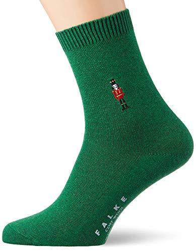 FALKE Damen Cosy Wool Nutcracker Socken, grün (golf 7408), 35-38
