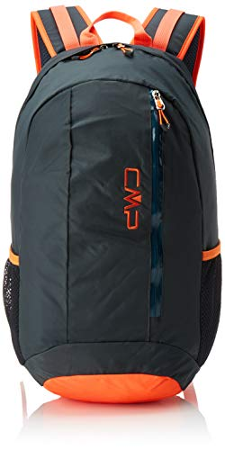 CMP Unisex Adult Rebel 18 litres Backpack Rucksack, Anthracite-Flash Orange, U
