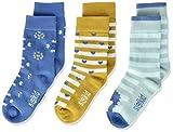 Sigikid Baby-Mädchen 3er Pack Socken-Set aus Bio-Baumwolle für Kinder