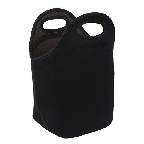 Andux Las Bolsas de Asas Impermeables Reutilizables del Neopreno del Almuerzo empaquetan XJCB-01