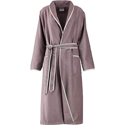 Michaelax-Fashion-Trade Cawö - Damen Velours Bademantel mit Schalkragen (4321), Größe:40, Farbe:Taupe (302)