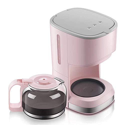 KOUPA Cafetera automática Tipo de Goteo doméstico Mini cafetera pequeña, cafetera de 4 Tazas con Filtro de café y Jarra de Vidrio, Tetera para Preparar té de Doble Uso