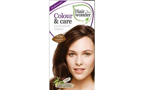 Colour and Care- 5.35 Chocolate Brown 6.80 Ounces by Hair Wonder by Nature