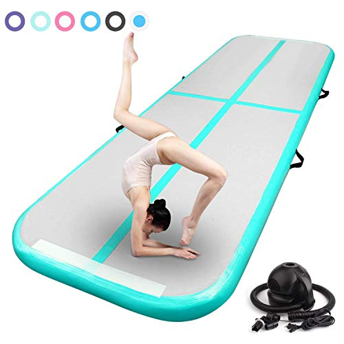 Fbsport 3//4//5//6m gonfiabile Air TRACK salti ginnastica allenamento del pavimento tappetino POMPA