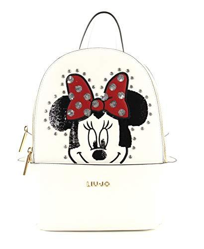 LIU JO Mouse Happy New Year Backpack Bianco Lana