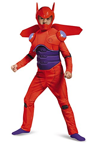 Disney Red Baymax Big Hero 6 Deluxe Boys' Costume