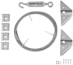 Rocky Mountain Goods Anti Sag Gate Kit – Extra Strength zinc plated steel –..