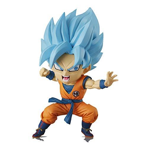 Dragon Ball Super- Figura Coleccionable Chibi Masters - Super Saiyan Blue Son Goku