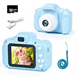 Subao Kids Camera Digital Camera for Kids Best Toys Gifts for 3 4 5 6 7 Years Old Boys Girls Toddler 1080P 16GB SD