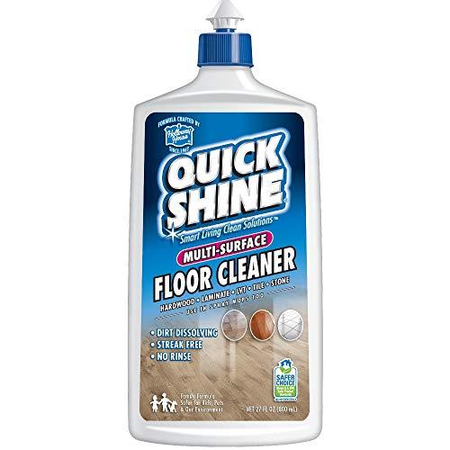 Quick Shine Multi-Surface Floor Cleaner, 27-Ounce, 27 Fl. Oz, Blue, 27 Fl Oz