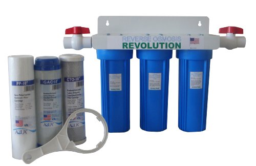Product Image of the Reverse Osmosis Revolution 3-Stage