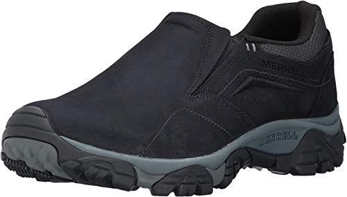 Merrell Men's Moab Adventure Moc Hiking Shoe, Black, 10 2E US