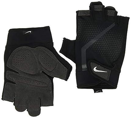 Nike Guantes de entrenamiento para hombres, negro / antracita / blanco, tamaño: XL