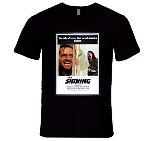 N/N The Shining Original Affiche de film T-Shirt Halloween The Shining T-Shirt - Noir - Medium