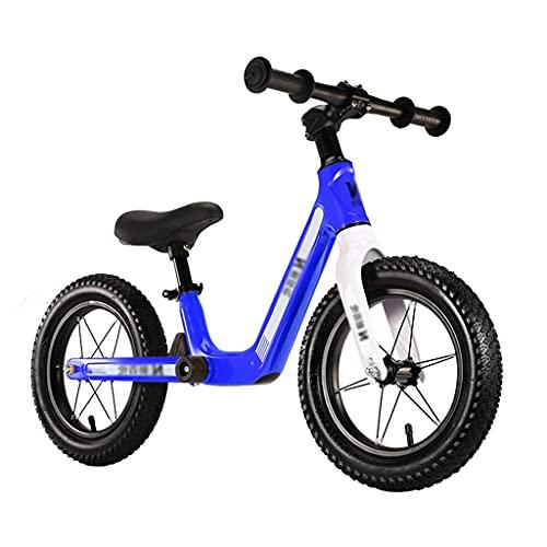 rower biegowy dla dzieci 12-calowy Lekki Rowerek Biegowy dla Dzieci, dla Małych Dzieci W Wieku 2-6 Lat Z Regulowanym Siedzeniem Rower Treningowy dla Maluchów Bez Pedałów (Size : 55x90x(34-45) cm)