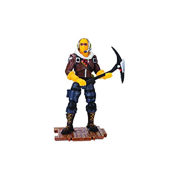 Jazwares-Fortnite figura Raptor (Toy partner FNT0014) coleccionables Teknique, multicolor, talla única , color/modelo… 2
