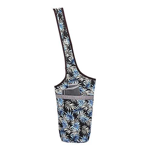 XITANG Bolsa de hombro para yoga, bolsa para esterilla de yoga, toalla y accesorios, funda para manta de fitness, bolsa de hombro funcional para pilates (1 unidad)
