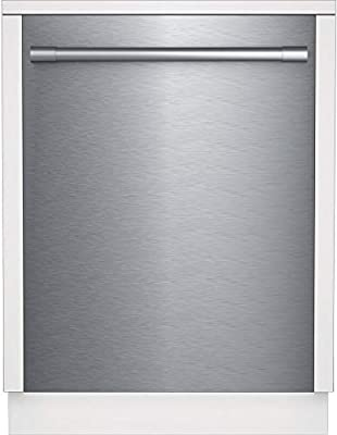 """Beko DDT25400XP 24"""" Pro-Style Top Control Dishwasher with 14 Place Settings, Stainless Steel Tub, Condensing Dry, 48 dBA Noise Level, in Fingerprint-Free Stainless Steel"""