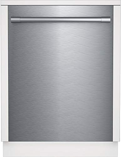 Beko DDT25400XP 24' Pro-Style Top Control Dishwasher with 14 Place Settings, Stainless Steel Tub, Condensing Dry, 48 dBA Noise Level, in Fingerprint-Free Stainless Steel