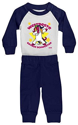 Hariz - Pijama para bebé con forma de unicornio, incluye tarjeta de...