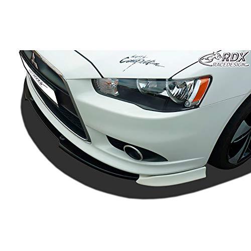 RDX Frontspoiler VARIO-X Lancer Sportback 2008+ Frontlippe Front Ansatz Vorne Spoilerlippe