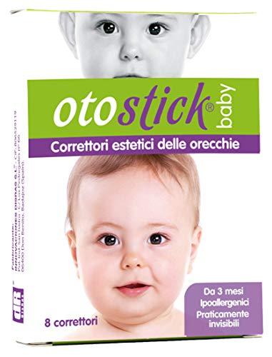 Otostick |C orrettore per Orecchie a Sventola | Contiene 8 correttori | A partire dai 3 anni d'età.