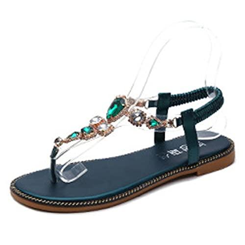 Sandalias de mujer con plataforma y correa al tobillo, puntera abierta, cómodas,...