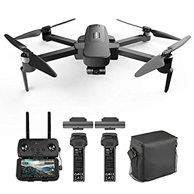 Hubsan Zino Pro Plus 4K Drone UHD Camera 3-Axis Gimbal GPS FPV RC Quadcopter with Carrying Bag, 8KM SyncLeas Transmission Brushless Motor Auto Return Home 39mins Flight Time