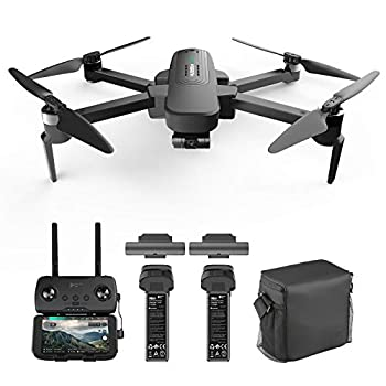 Hubsan Zino Pro Plus 4K Drone UHD Camera 3-Axis Gimbal GPS FPV RC Quadcopter with Carrying Bag 8KM SyncLeas Transmission Brushless Motor Auto Return Home 39mins Flight Time
