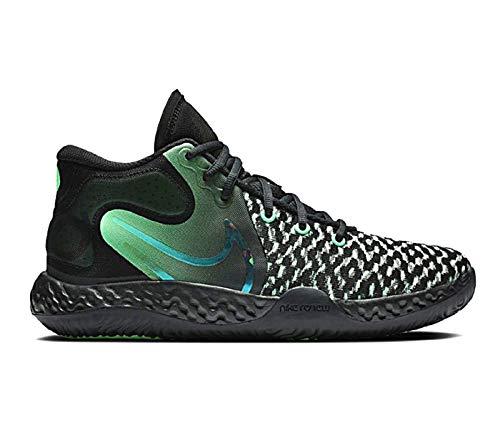 Nike KD Trey 5 VIII Baloncesto Zapato Hombres Ck2090-004, Negro (Negro/Clear-ilusion Green-Racer Azul), 45.5 EU