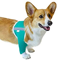 VetMedWear Shoulder Protective Sleeve for Dogs - E-Collar Alternative - After Surgery Wear - for Hot Spots, Wounds, Bandages, and Other Skin Conditions