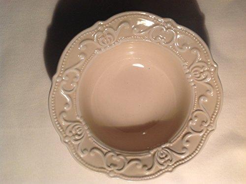 Countryfield Schale, Schüssel Creme, Ø 14,5cm, Creme weiß, rund, Landhausstil, Decostar