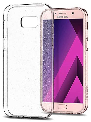 Spigen Liquid Crystal Glitter Handy Hülle 13,2 cm (5,2 Zoll) Transparent - Handyhüllen (Case, Samsung Galaxy A5 2017, 13,2 cm (5,2 Zoll) transparent