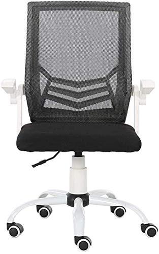 ZDW Computer Chair Büro mit Roller Blade-Räder - Lächerlich Komfortabler High Back-Computer-Schreibtisch-Stuhl Exekutive Einstellbare Hocker Roll