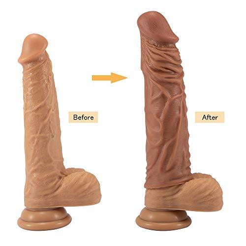 Fondlove Penishülle Penis Sleeve Penis Extender Penisverlängerung Penis Extension realistische Penis Vergrößerer Hülle
