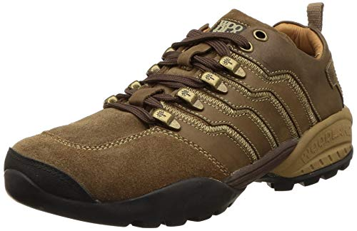 Woodland Men Tobacco Leather Sneakers (GC 2869118)