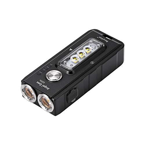 Mini torcia LED E200s 1650 Lumen CREE XP-G3 Type-C Ricarica rapida IPX67 Lampada portatile impermeabile Ideale per officine in campeggio Fotografia urgente Video Illuminazione per esterni