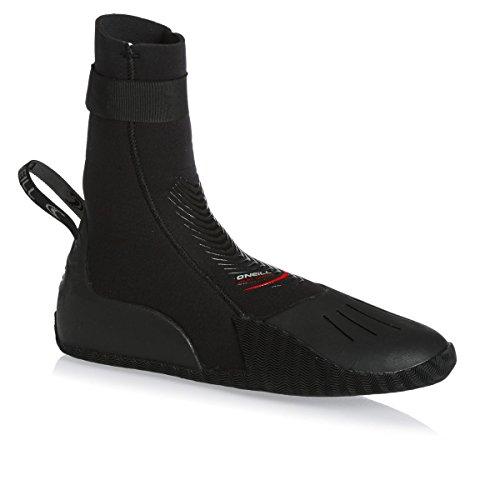O';Neill Heat 3mm ronde neus laars laarzen zwart - unisex - anti-flush scheenriem. 3mm Spoel alleen met koud water