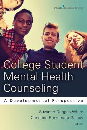 College Student Mental Health Counseling A Developmental Approach