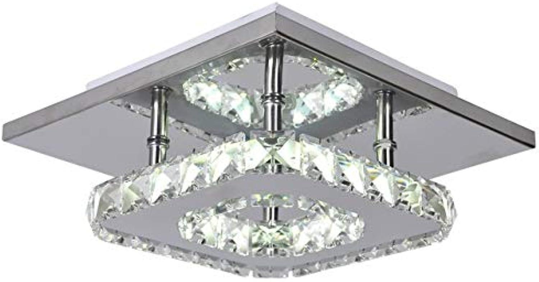 XY&XH Kronleuchter Moderner geführter Kristallkronleuchter führte Hochleistungslampen der Lampen 12W die Leuchter, die Wohnzimmerschlafzimmer führten, führte Glanzlicht droplight, kaltes Wei