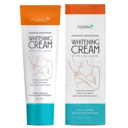 Underarm Whitening Cream, Lightening Cream Effective for Lightening & Brightening Armpit, Knees, Elbows, Sensitive & Private Areas, Whitens, Nourishes, Repairs & Restores Skin by AsaVea