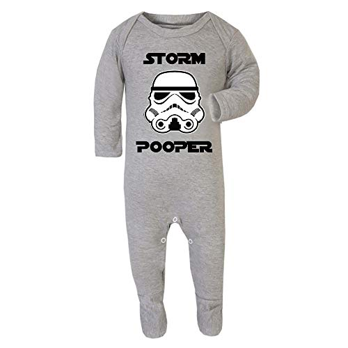 Original Stormtrooper Storm Pooper Baby and Toddler Romper Suit
