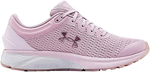 Under Armour UA W Charged Escape 3, Zapatillas de Running para Mujer, Rosa (Pink Fog/Halo Gray/Pink Fog (602) 602), 44.5 EU