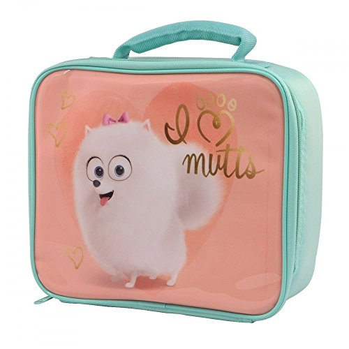 The Secret Life of pets I Love Mutts Lunch Bag