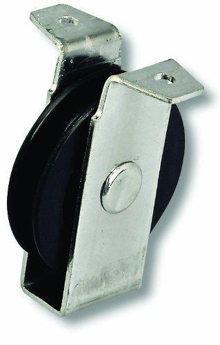 Chapuis VPCP1 Polea de chapa de acero galvanizado - 20 kg - Rueda diámetro 40 mm - Para cuerda de 6 mm de diámetro