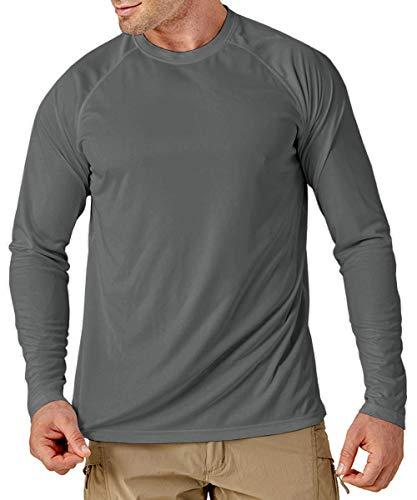 MAGCOMSEN Outdoor Shirt Herren Sommer...