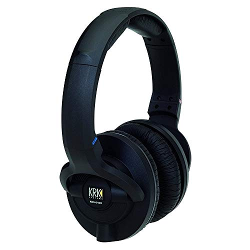 KRK KNS 6400 On-Ear Closed-Back Circumaural Studio Monitor Headphones