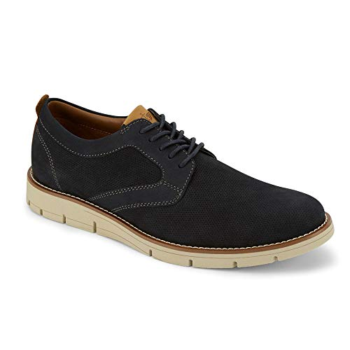 Dockers Mens Nathan Leather Dress Casual Oxford Shoe, Navy, 10 M