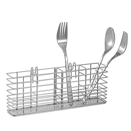 Slideep Stainless Steel Cutlery Utensil Holder Silverware...