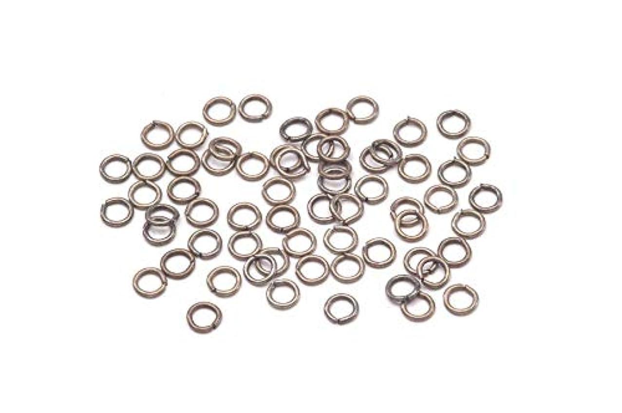 Jewelry Designer 1920-78 Jump Ring Brass Nickel 4Mm 70Pc